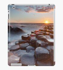Giant's Causeway , Co Antrim , Northern Ireland iPad Case/Skin