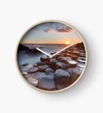 Giant's Causeway , Co Antrim , Northern Ireland Clock