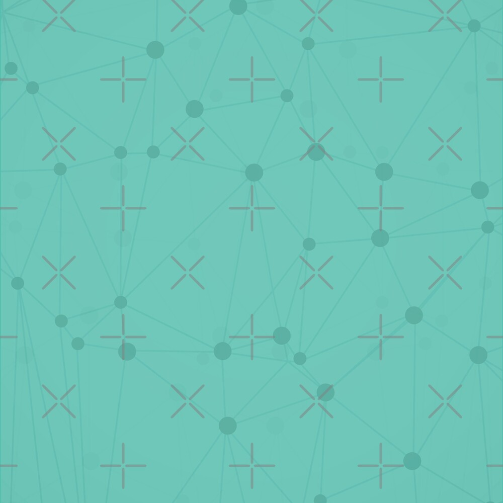 Teal Dots by WickedTink