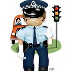 The Little Policeman by © Karin Taylor