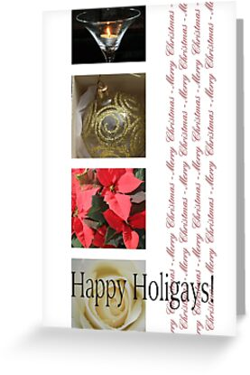 Happy Holigays: Winter Collage by Sabbia-Natale