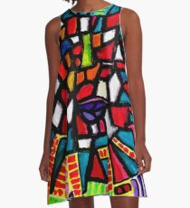 The Statue of Liberty  A-Line Dress