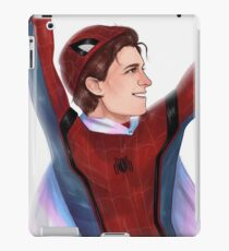 Trans Peter Parker iPad Case/Skin