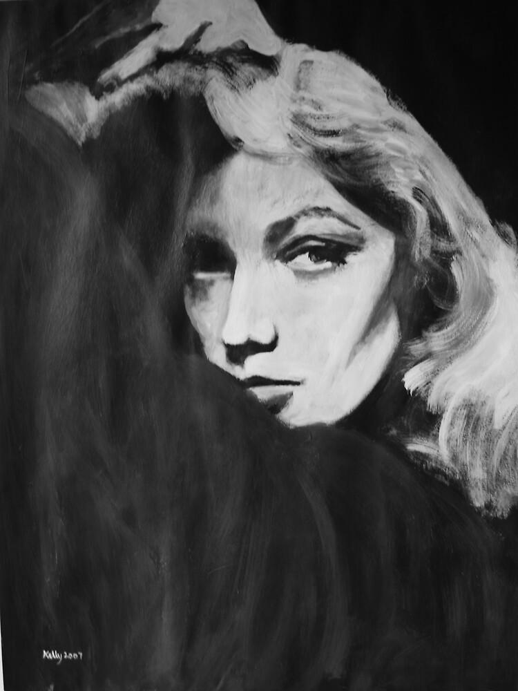 Lauren Bacall by chalk42002