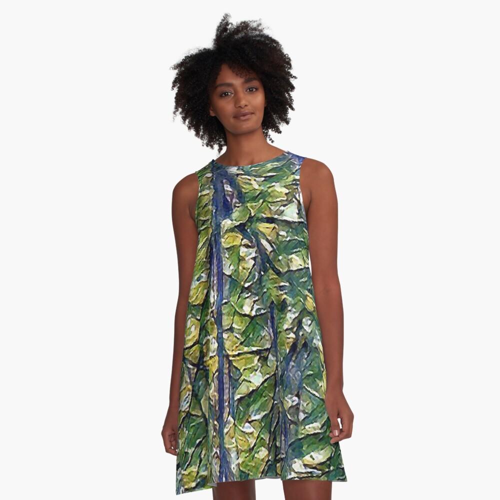 Limbs, Limbs, Limbs A-Line Dress Front