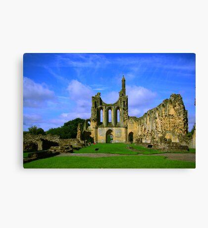 Byland Abbey  North Yorkshire Canvas Print