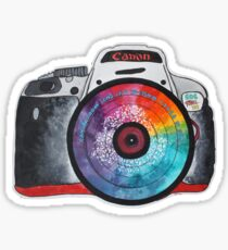 Colorful Lens Photography Sticker