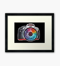 Colorful Lens Photography Framed Print