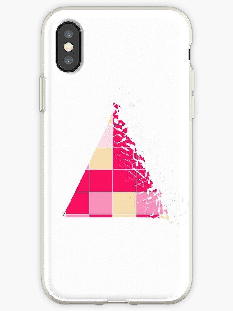 Pink and Yellow Triangles by Winry-Rockbell