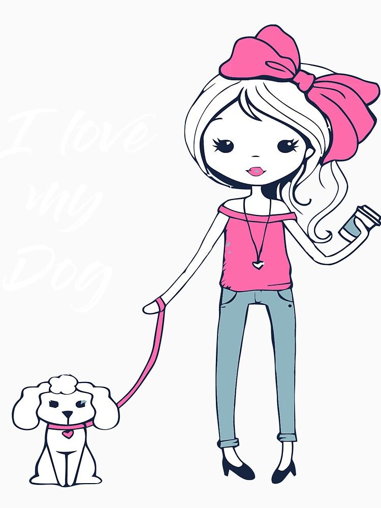 I Love My Dog by jforsberg