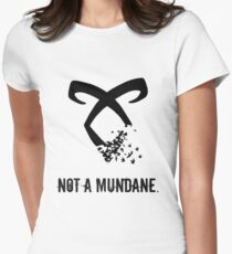 Shadowhunter. Women's Fitted T-Shirt