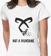 Camiseta entallada para mujer Cazador de sombras.
