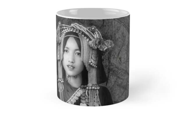 'Akha Hill Tribe Innocence' Mug by Glen Allison