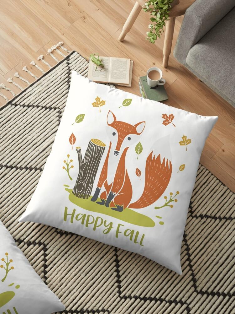 Happy Fall Fox by heartlocked