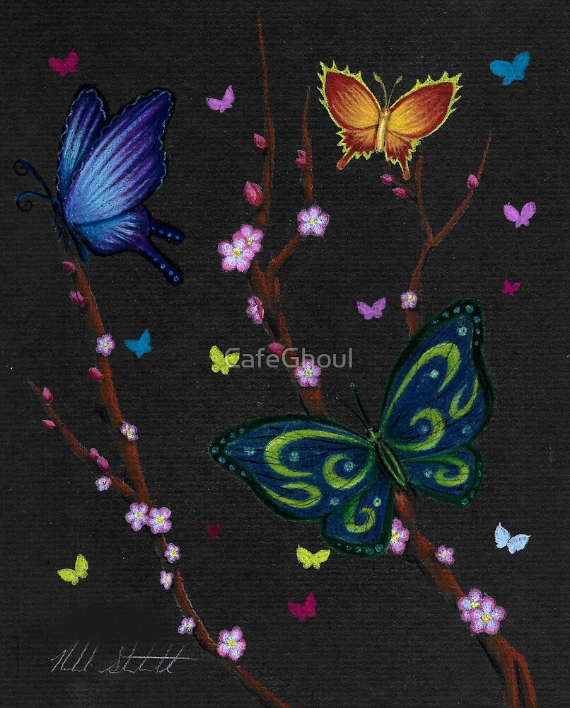Butterflies by CafeGhoul