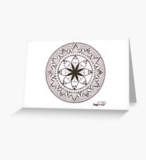 Mandala of Jasmine Greeting Card