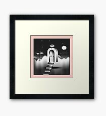 The Door to Nowhere in Particular Framed Print
