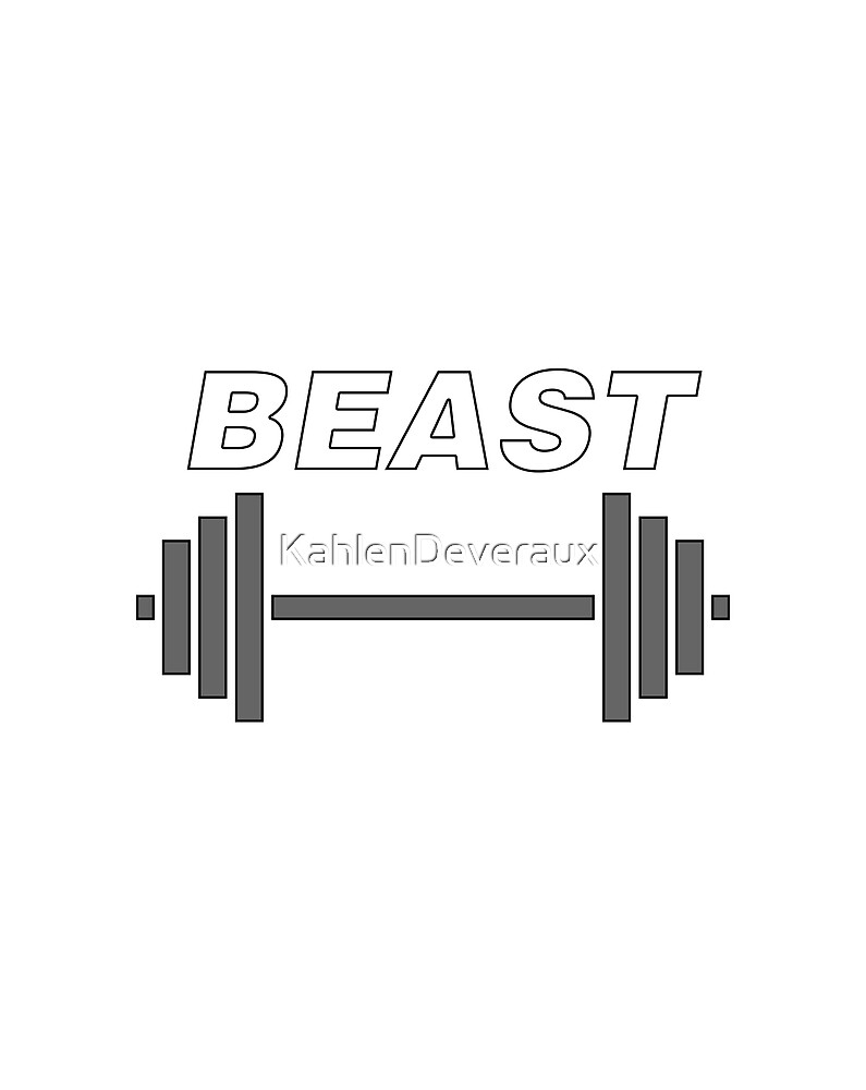 Beast Dumbell  by KahlenDeveraux