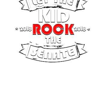 Let The Kid Rock The Senate 2018 T-Shirt by sociallyanti