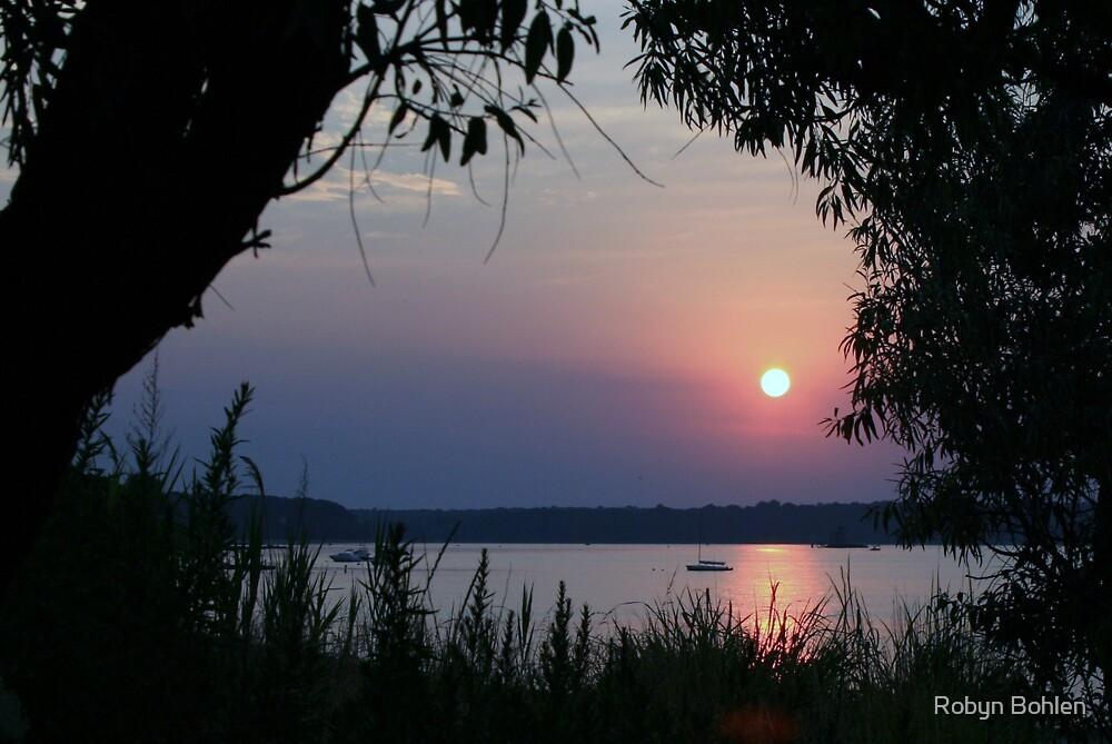 Huntington Bay Sunset by Robyn Bohlen