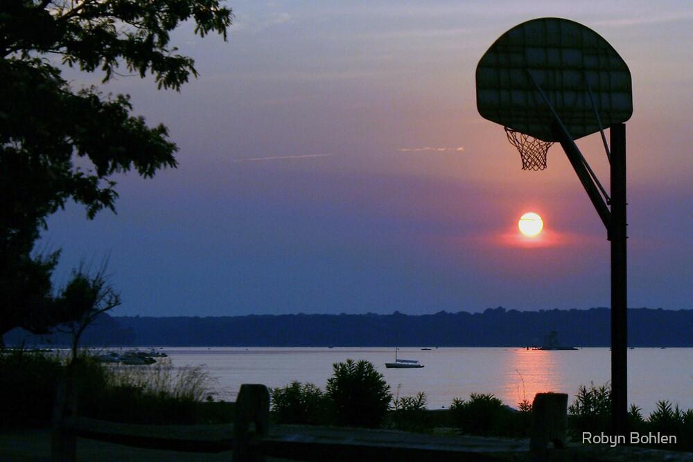 Slam Dunk Sunset by Robyn Bohlen