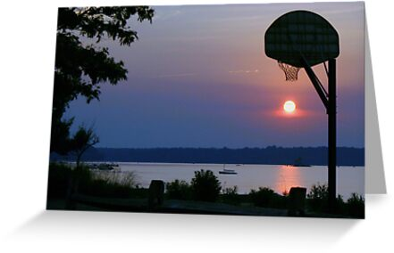 Slam Dunk Sunset by Robyn Bohlen