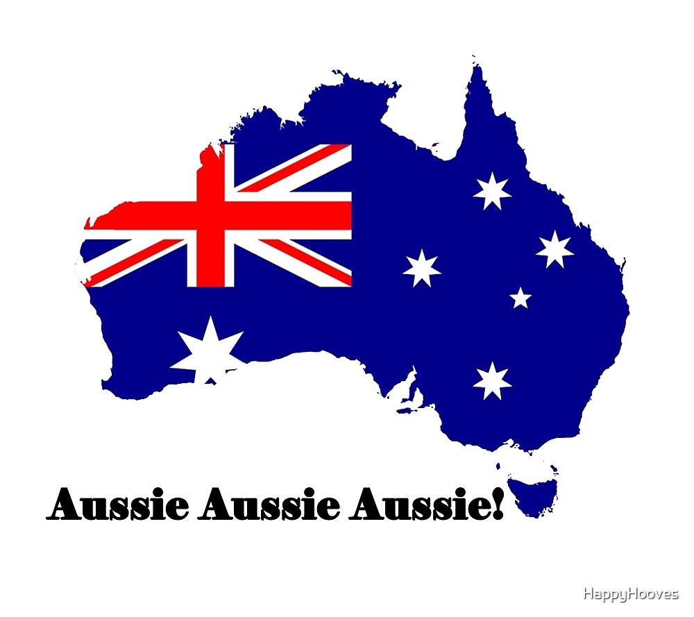 Aussie Aussie Aussie  by HappyHooves