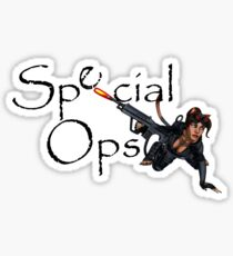 Special Ops Sticker