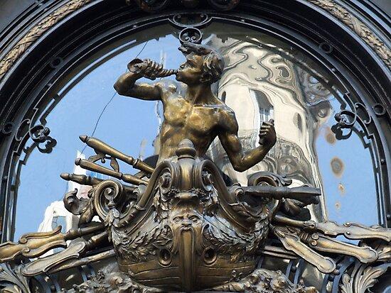 Doorway, Buenos Aires by John Douglas