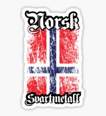 Norwegian Black Metal - Norsk Svartmetal Sticker
