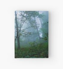 Misty Forest - Photography - Nature Hardcover Journal
