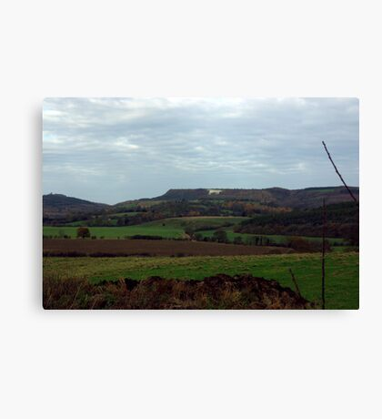White Horse-Sutton Bank Canvas Print