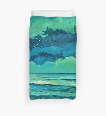 Abstract Seascape IX Duvet Cover