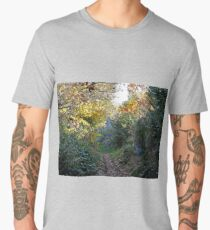 Along the Leaves - Nature Men's Premium T-Shirt