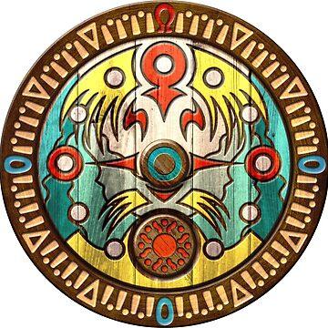 Zelda clock retro wooden theme by TrinketGeek