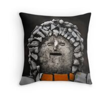 Nek Chand Fantasy 2 - THROW PILLOW by Glen Allison