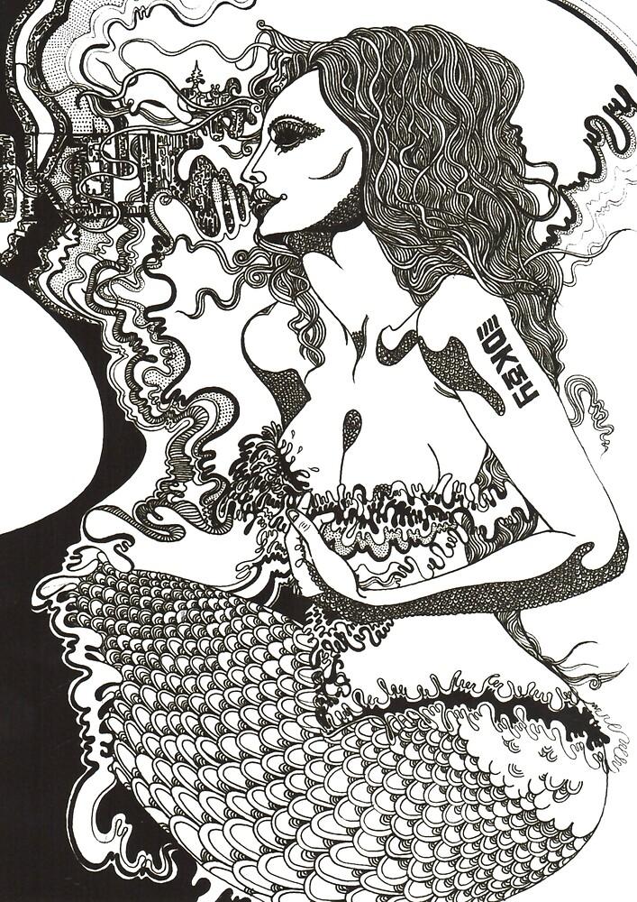 Mermaid, decoy by jef-winter