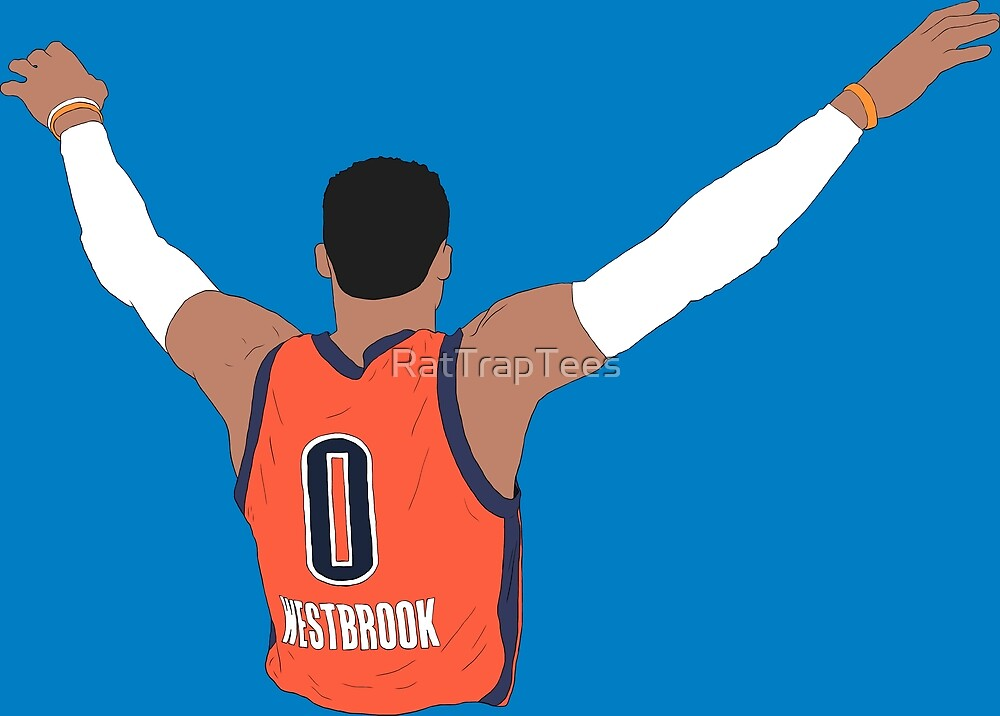 Russell Westbrook Back-To by RatTrapTees