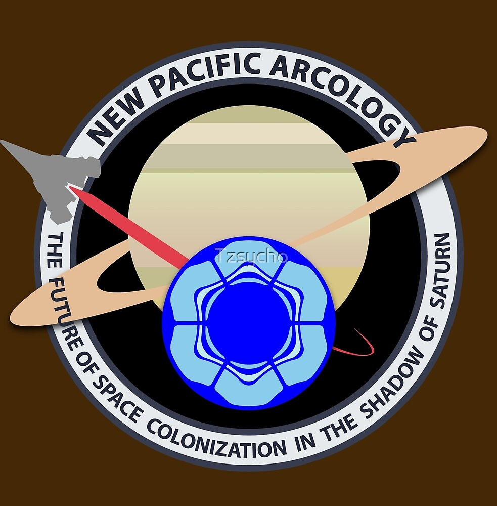 New Pacific Arcology by Tzsycho