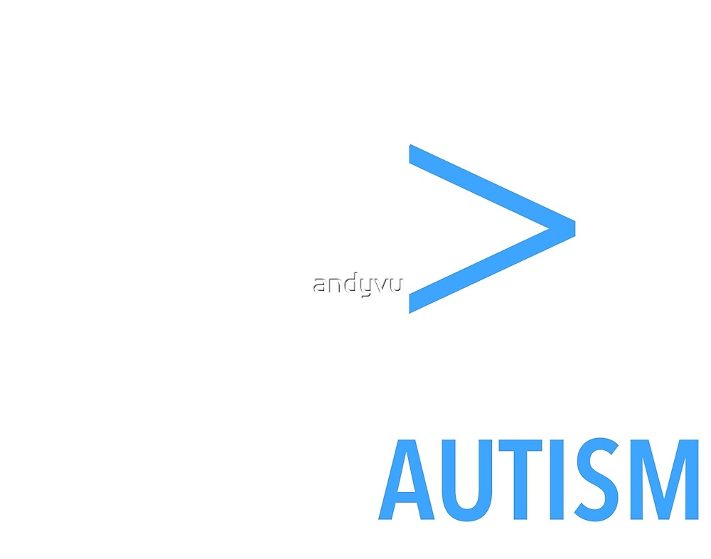 Coding Autism - For Dark Items  by andyvu