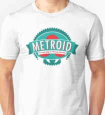 Metroid Cartography and Bounty Hunting T-Shirt