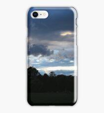 German Sky at Dusk iPhone Case/Skin