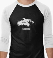 st. john strong Men's Baseball ¾ T-Shirt