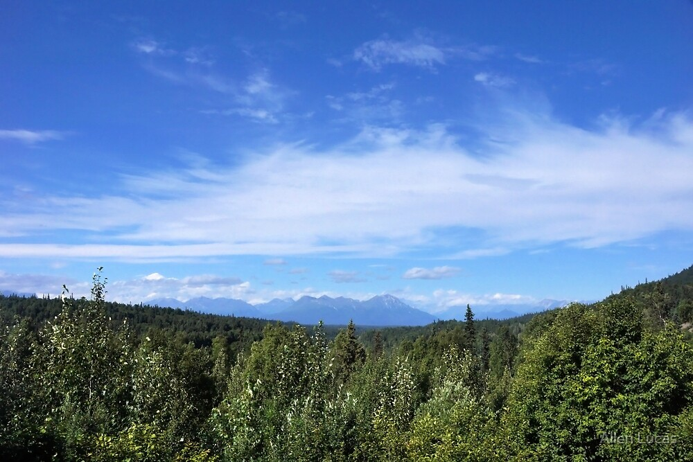 Tokosha Mountains Alaska by Allen Lucas