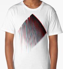3D Minimal Techno Chaos Long T-Shirt