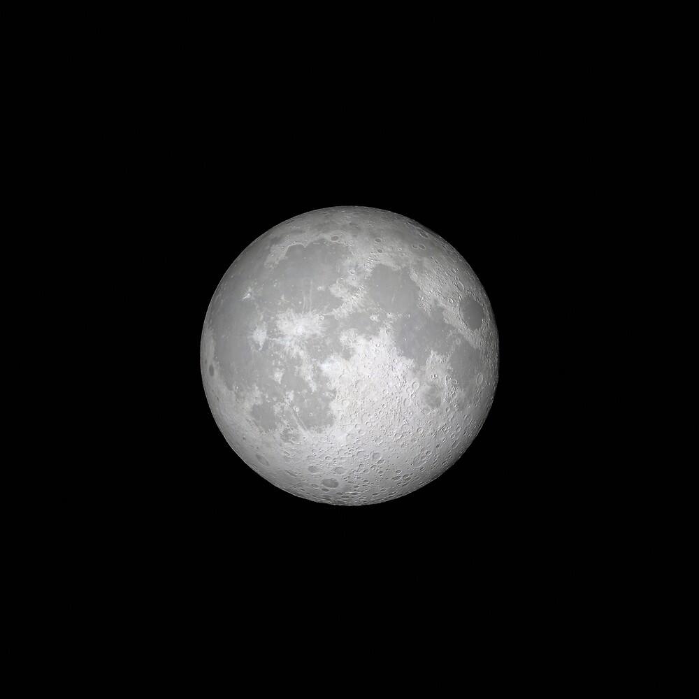 The Moon by Mikhail Zhirnov