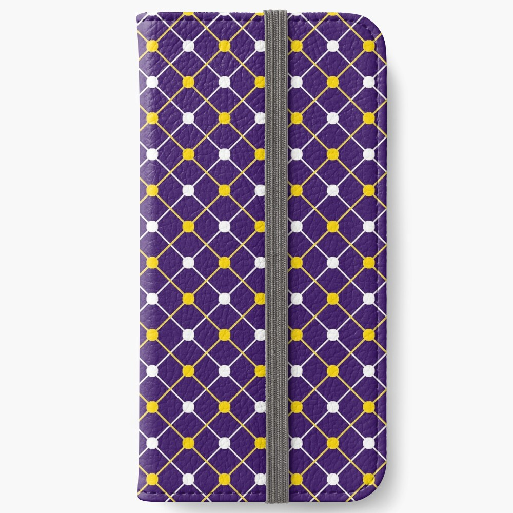 Catch a Tiger By Its Toe Gameday Dress 2 iPhone Wallet