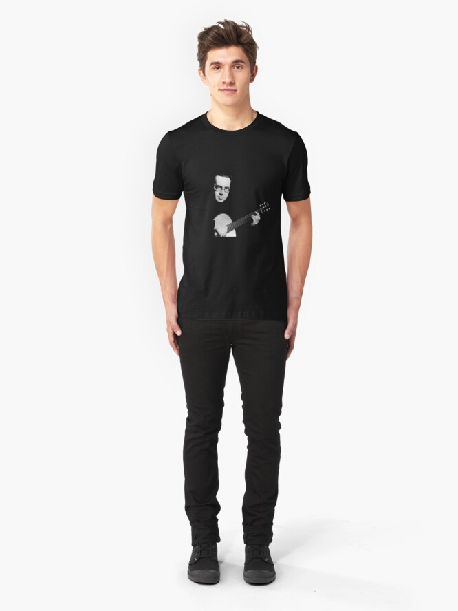 Alternate view of Andres Segovia - Perhaps the greatest classical guitarist Slim Fit T-Shirt