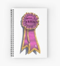 """I Tried"" Ribbon Spiral Notebook"