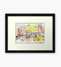 The Old Shed Out the Back Framed Print